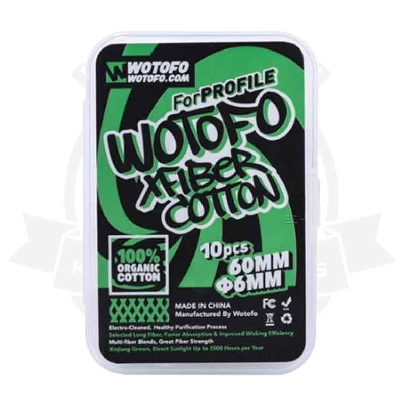 Wotofo-Xfiber-Watte