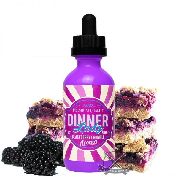 Dinner Lady - Blackberry Crumble