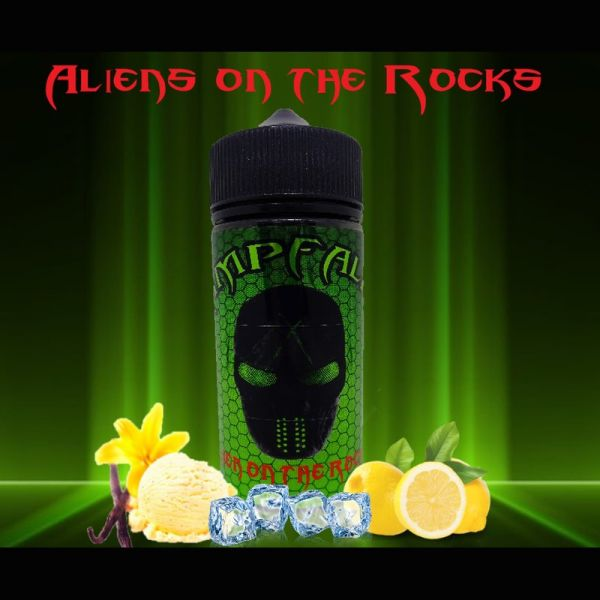 Dampfalien - Alien on the Rocks 100ml Liquid