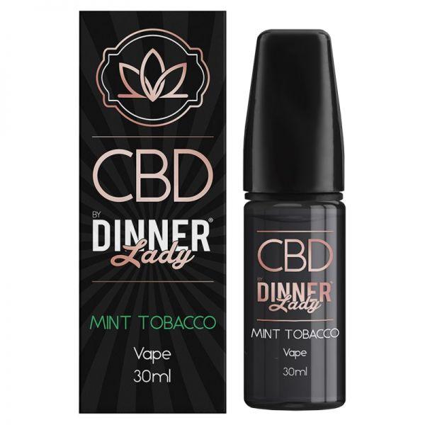 Dinner Lady CBD 1000mg - Mint Tobacco Liquid 30ml
