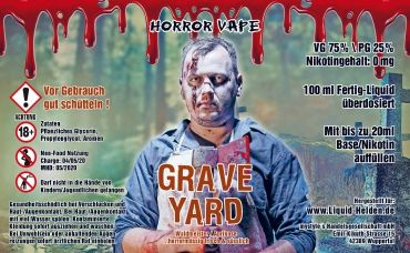 Horror Vape - Grave Yard - 100ml