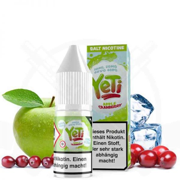 Yeti - Apple Cranberry 20mg Nikotinsalz