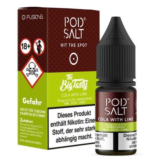 Pod Salt - Cola with Lime 10ml 20 mg