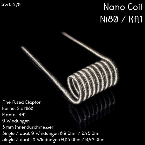 Nano Coil 0,9 Ohm DUAL SET