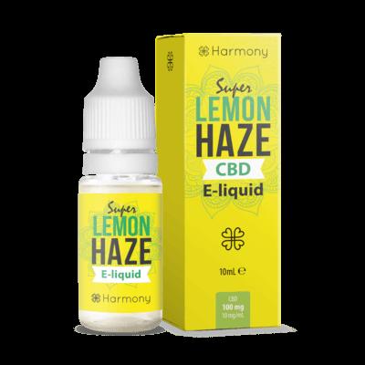 Harmony CBD - Super Lemon Haze 600mg 10ml Liquid