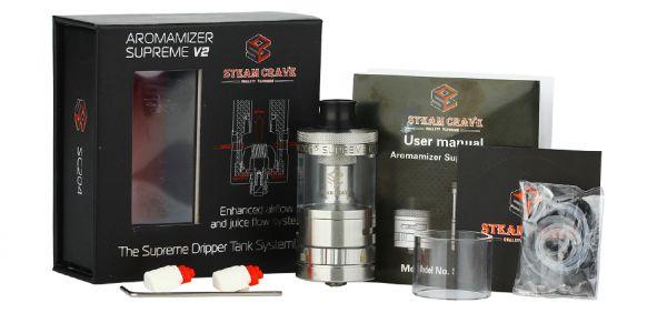 Steam Crave - Aromamizer Supreme V2 25mm RDTA