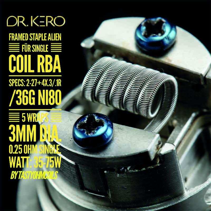 Dr-Kero-Framed-Staple-Alien-Single
