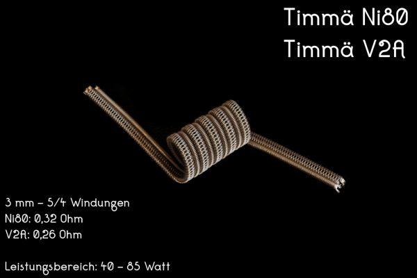 Franktastische Coils - Timmä Coil - 0,33 Ohm - NiChrom