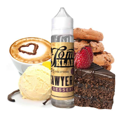 Tom Klark's - Tom Sawyer - Dessert 60 ml 0mg