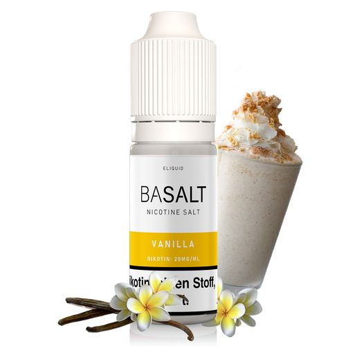 BaSalt - Vanilla 10ml 20mg Liquid