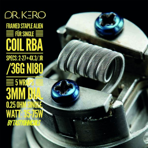 Dr.Kero Framed Staple Alien Single Coil