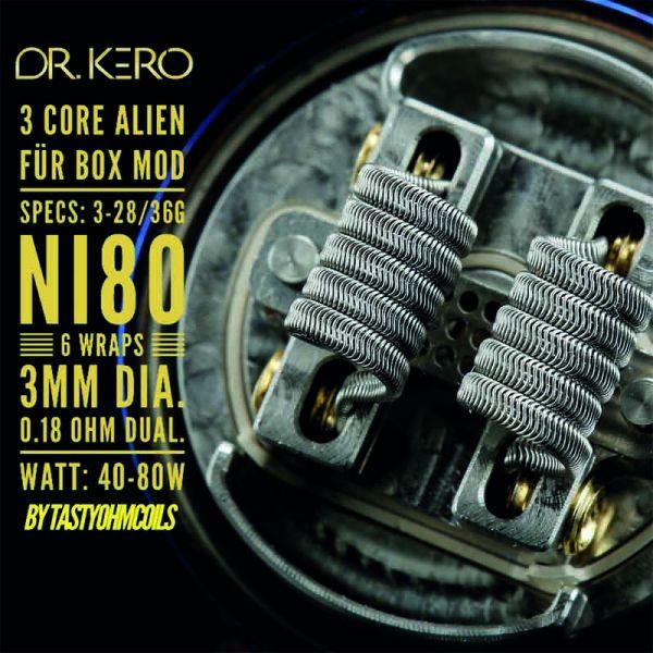 Dr.Kero 3 Core Alien Coil