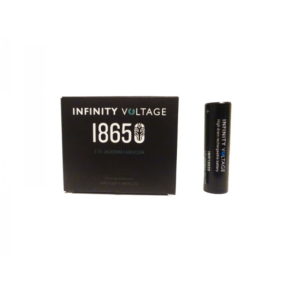 Infinity Voltage Batterie 18650 - 2600 mAh, 50A (2er-Pack)
