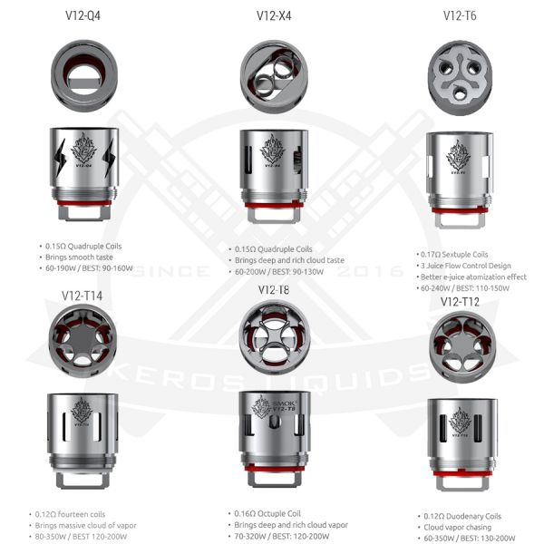 SMOK - TFV12 - Cloud Beast King Coils