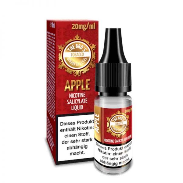 The Bro`s Apple Nikotinsalz Liquid 20mg