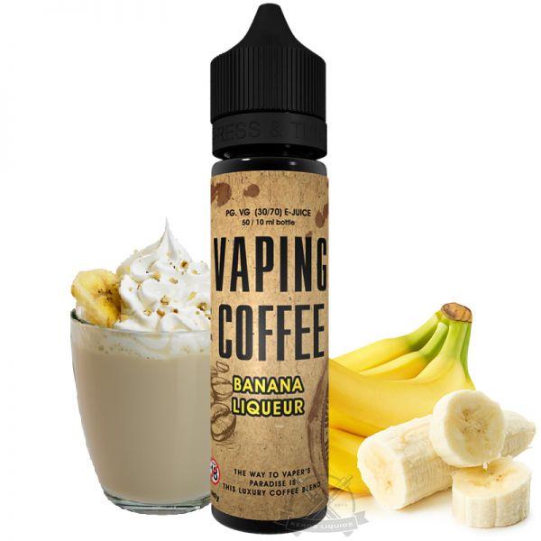 VoVan - Vaping Coffee - Banana Liqueur Plus
