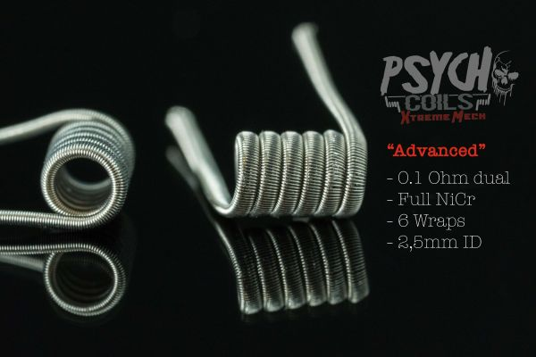 Psycho Coils - Xtreme Mech Advanced 0,10 ohm