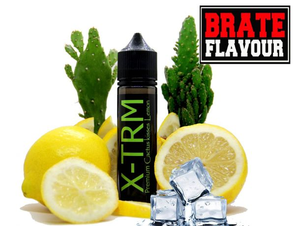 Brate Flavour - X- TRM Cactus kisses Lemon Liquid 50ml