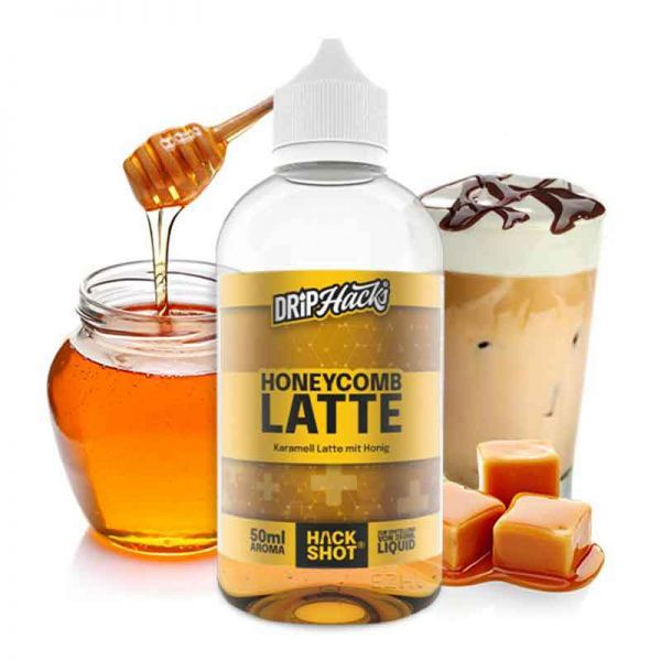 Drip Hacks Honeycomb Latte Aroma 50ml