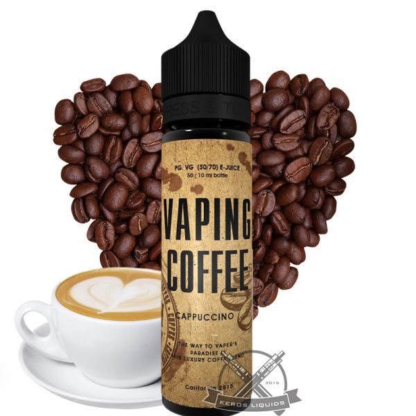 VoVan - Vaping Coffee - Cappuccino Plus