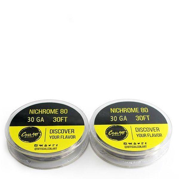 COILART Nichrome 80 30GA Wickeldraht