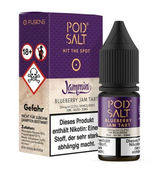 Pod Salt - Blueberry Jam Tart 10ml 20 mg
