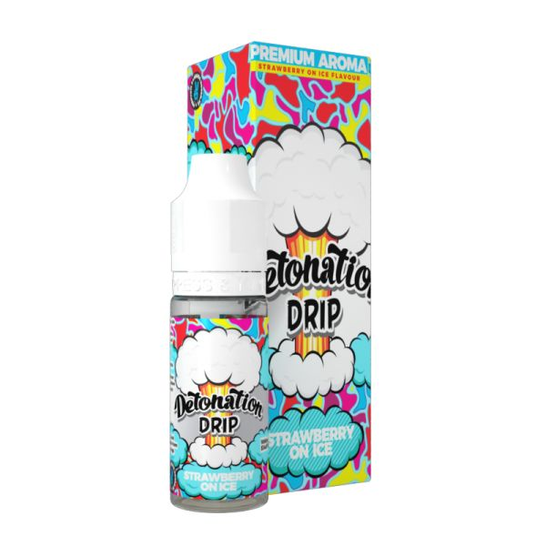 Detonation Drip Aroma - Strawberry on Ice 10 ml