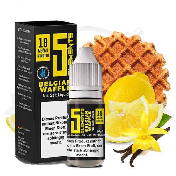 5 Elements Belgian Waffle Nikotinsalz Liquid