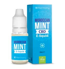 Harmony CBD - Moroccan Mint 100mg 10ml Liquid