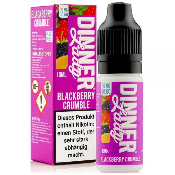 Dinner Lady - Blackberry Crumble Liquid 10ml