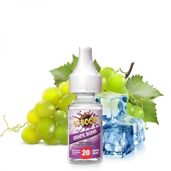K-Boom Grape Bomb Nikotinsalz Liquid