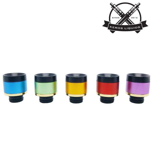 510 Delrin Colour Gold Drip Tip