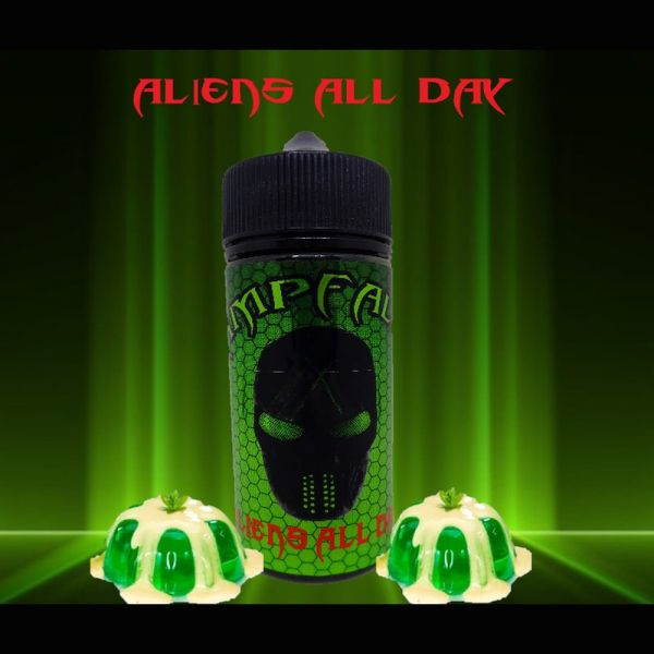 Dampfalien - Aliens All Day 100ml Liquid