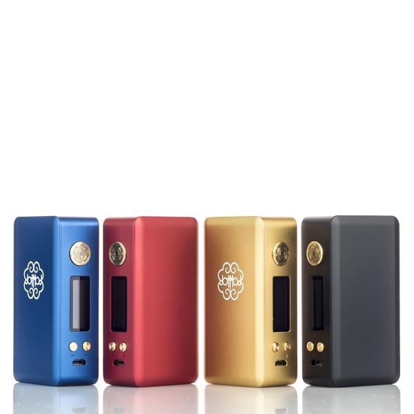 DotMod - DotBox 75W Box Mod   DotMod   Akkuträger   E-Zigaretten ...