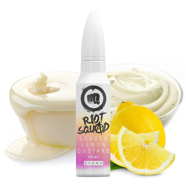 RIOT SQUAD Shots Loaded Lemon Custard Aroma 15ml