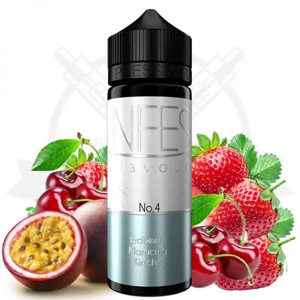 NFES - No.4 Erdbeere Maracuja Kirsche Aroma
