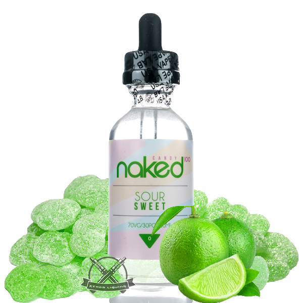Naked 100 Candy - Sour Sweet Plus