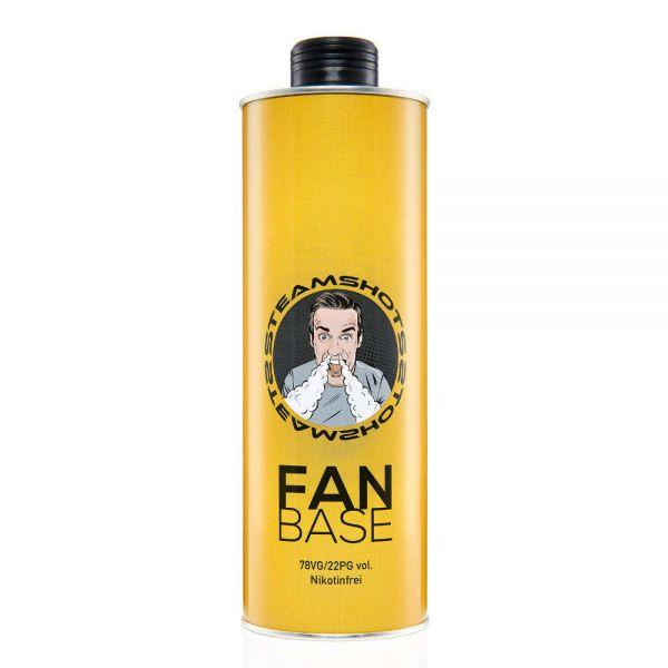Steamshots Fan Base 750ml - 0mg