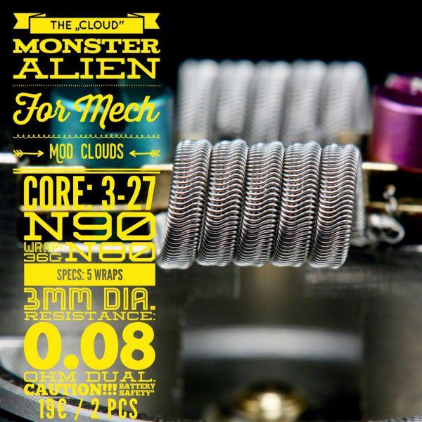 """Tasty ohm - """"The Cloud"""" Monster Alien for Mech"""