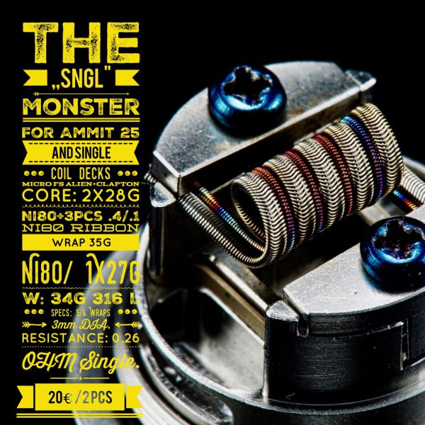 Tasty ohm - The SNGL Monster