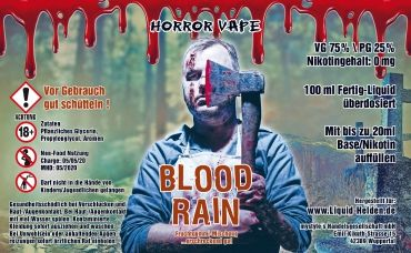 Horror Vape - Blood Rain - 100ml