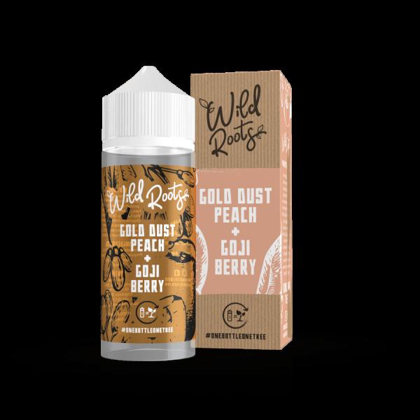 Wild Roots - Gold Dust Peach 100ml Liquid