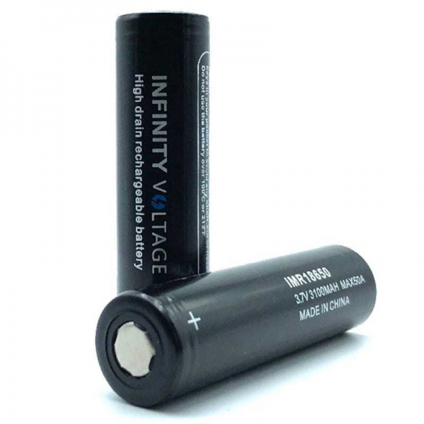 Infinity Voltage Batterie 18650 - 3500 mAh, 30A MAX 2er Pack