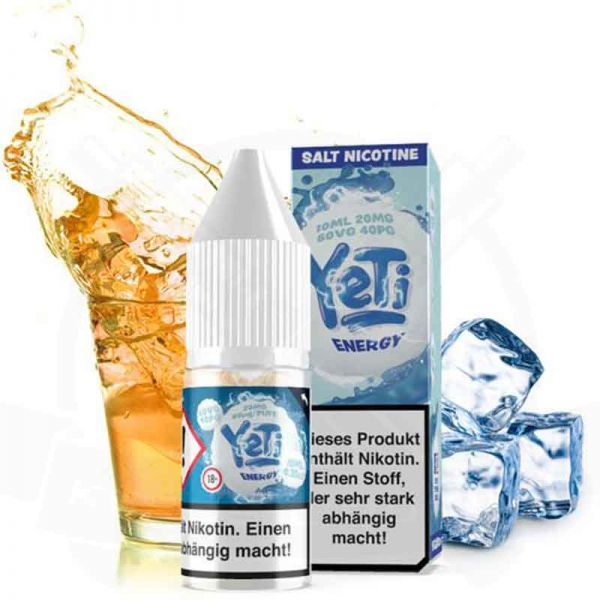 Yeti - Energy 20mg Nikotinsalz Liquid