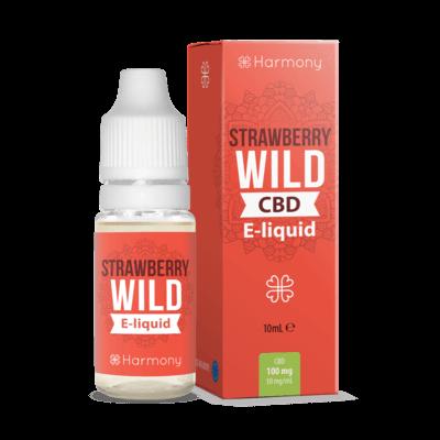 Harmony CBD - Strawberry Wild 100mg 10ml Liquid