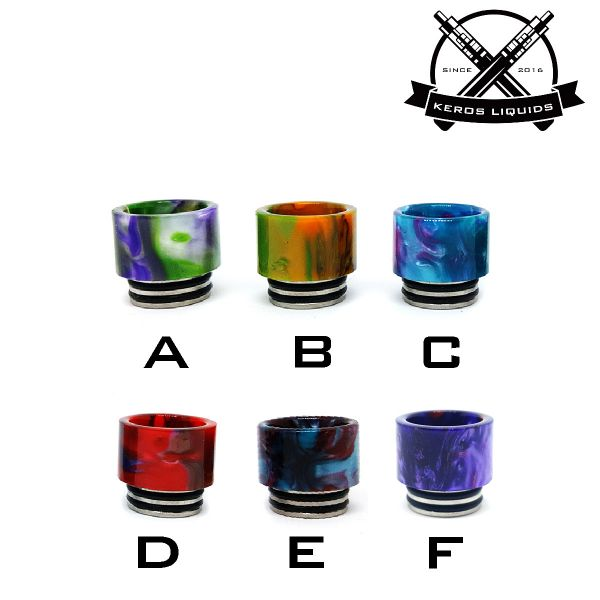 810 Resin Widebore Drip Tip