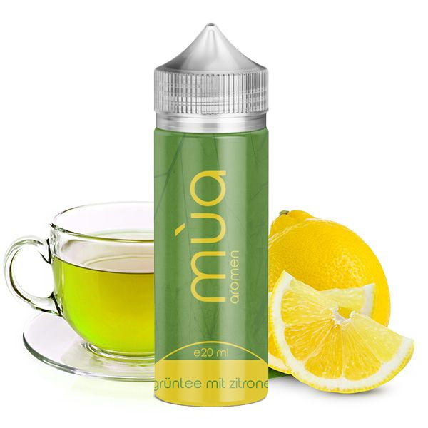 Mùa - Grüntee mit Zitrone 20ml Aroma