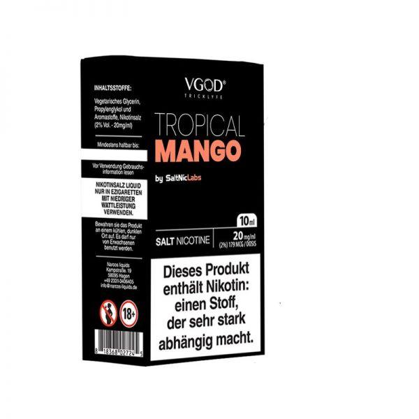 VGOD SaltNic Tropical Mango Liquid 10ml 20mg