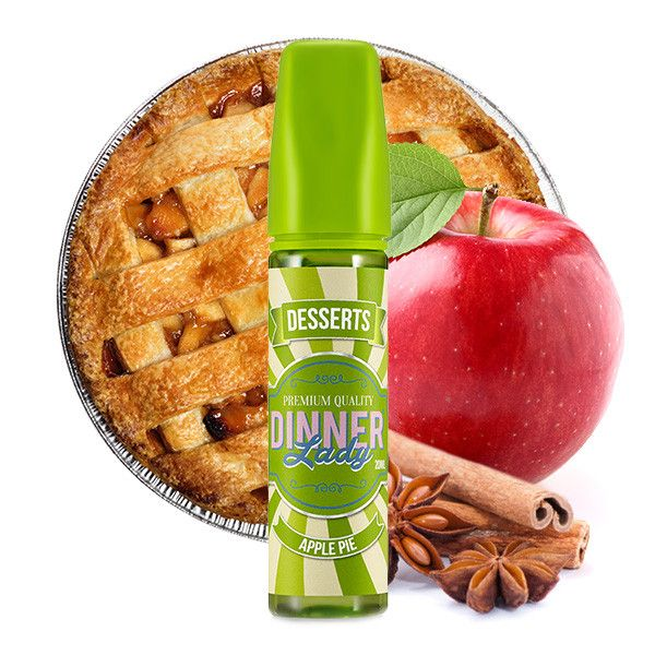 Dinner Lady Dessert - Apple Pie 20ml Aroma