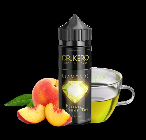 Dr. Kero Diamonds - Pfirsich Grüner Tee 20ml Aroma
